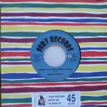 "45Re✦MARIO BRADLEY✦""Boppin' To Grandfather's Clock/She Breaks Me Down""Top Bopper"